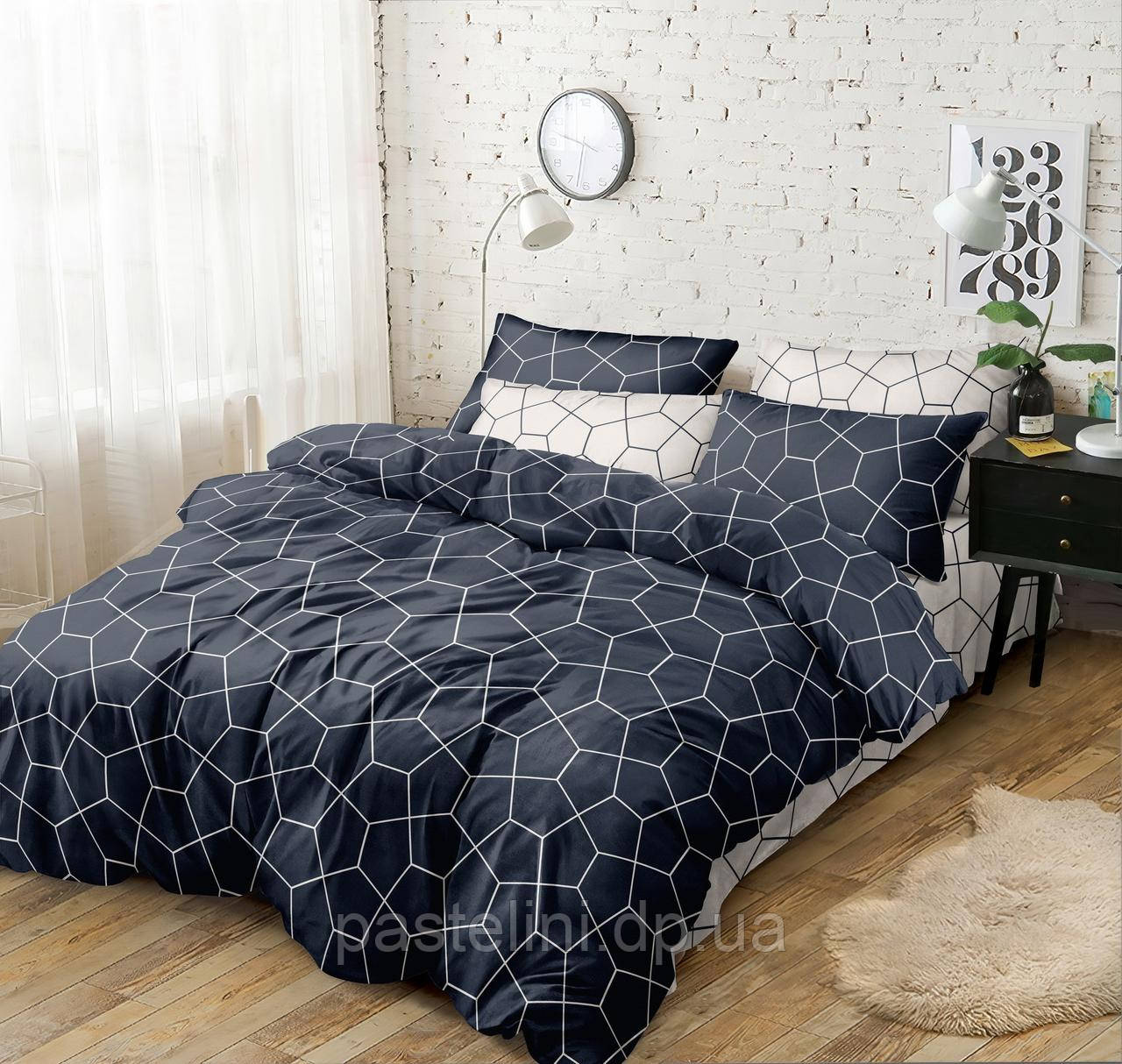 Комплект постельного белья Love you поплин двуспальный 203006