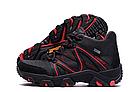 Мужские зимние кожаные ботинки IceField Gore-Tex Black реплика, фото 7