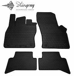 Резиновые коврики в автомобиль Volkswagen Touran III 2010- (Stingray)