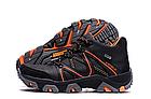 Мужские зимние кожаные ботинки IceField Gore-Tex Black реплика, фото 2