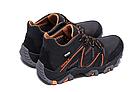 Мужские зимние кожаные ботинки IceField Gore-Tex Black реплика, фото 4