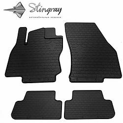 Резиновые коврики в автомобиль Volkswagen Tiguan I 2007- (Stingray)