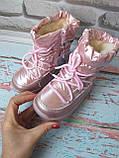 Детские розовые зимние луноходы на девочку, фото 2