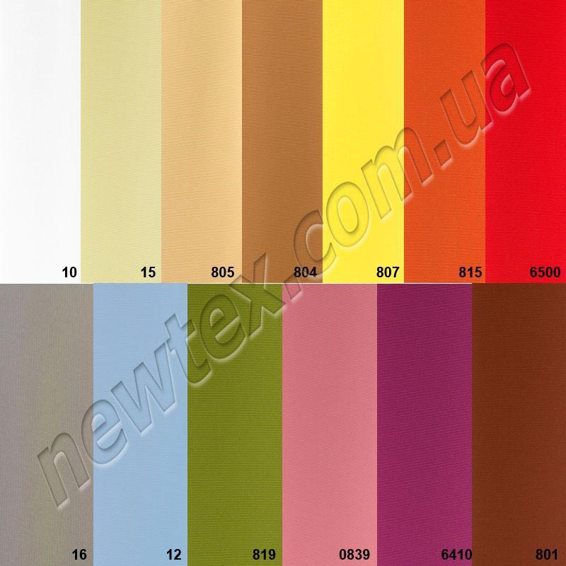 Тканинні ролети Амелі готові (13 кольорів)