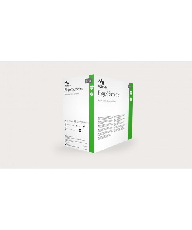Перчатки хирургические латексные стерильные Biogel® Surgeons, размер 8.5 (1 пара)