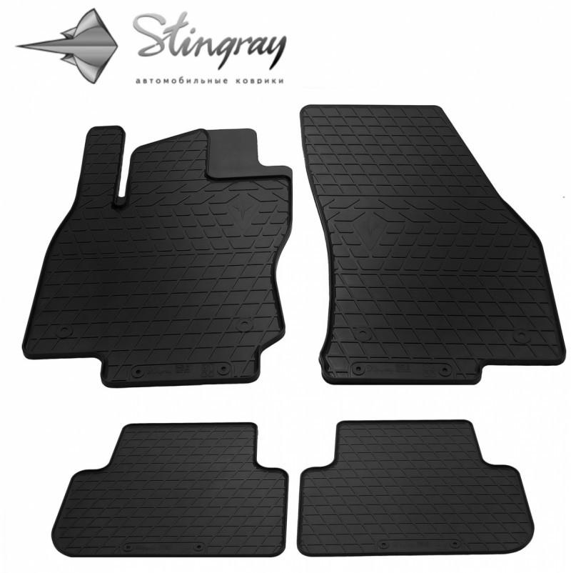 Резиновые коврики в автомобиль Volkswagen Tiguan 2016- (Stingray)