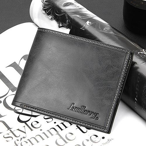 Чоловічий гаманець Baellerry чорний