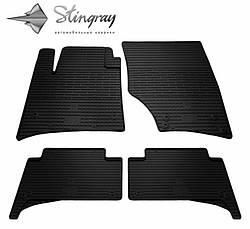 Резиновые коврики в автомобиль Volkswagen Touareg 2002-2010 (Stingray)