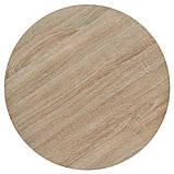 Круглые столики для кафе HoReCa и ресторанов из массива дерева, опоры из металла, фото 6
