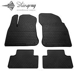 Резиновые коврики в автомобиль Volkswagen Touareg 2010-2018 (Stingray)