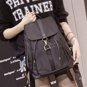 Женская сумка - рюкзак HiFlash Черная ✔