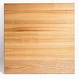Деревянные столики для кафе HoReCa и ресторанов из массива дерева, опоры из металла, фото 3
