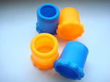 Цветная резиновая насадка для радиомикрофона  Sennheiser ew100g2, ew135g3, фото 7