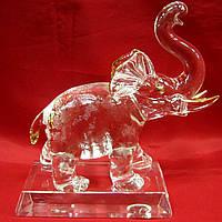 Слон хрусталь 20см (22796)