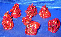 Слоны каменная крошка (н-р/6шт) (17,5х12,5х4см)