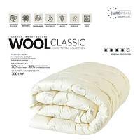 Одеяло зимнее 200х220 овечья шерсть WOOL CLASSIC, фото 1