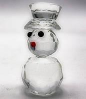 Снеговик хрусталь 6х4х4см (18269)