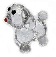 Собака хрустальная 6х4х4см (18166)