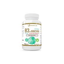 Вітамін B3 (PP) Ніацин, нікотинова кислота + інулін 50 мг caps 60, PROGRESS LABS