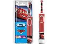 Детская электрическая зубная щетка Oral-B Braun D 100 Cars\ Тачки