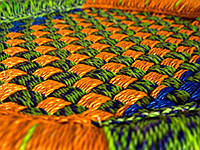 Табурет плетеный 40х36х36см (26560)