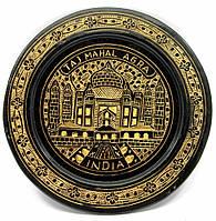 Тарелка бронзовая настенная 15см (24748)