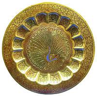 Тарелка бронзовая настенная 17,7см (1800)