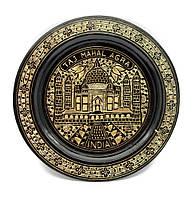 Тарелка бронзовая настенная 20см (24727)