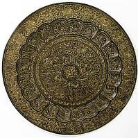 Тарелка бронзовая настенная 50см (20425)