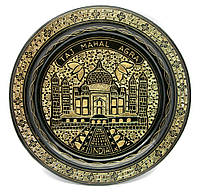 Тарелка бронзовая настенная 25см (24728)