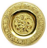 "Тарелка настенная бронзовая ""Танцующий Шива"" d-14см (24705)"