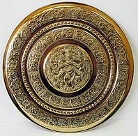 "Тарелка настенная бронзовая ""Танцующий Шива"" d-31см (20469)"