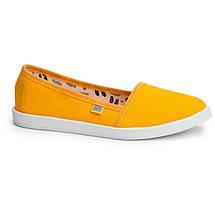 Мокасины OLDCOM Canvas желтые, фото 2