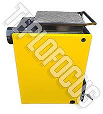 Котел Vulkan 10 кВт termo твердотопливный шахтный (Холмова). Бесплатная доставка!, фото 3