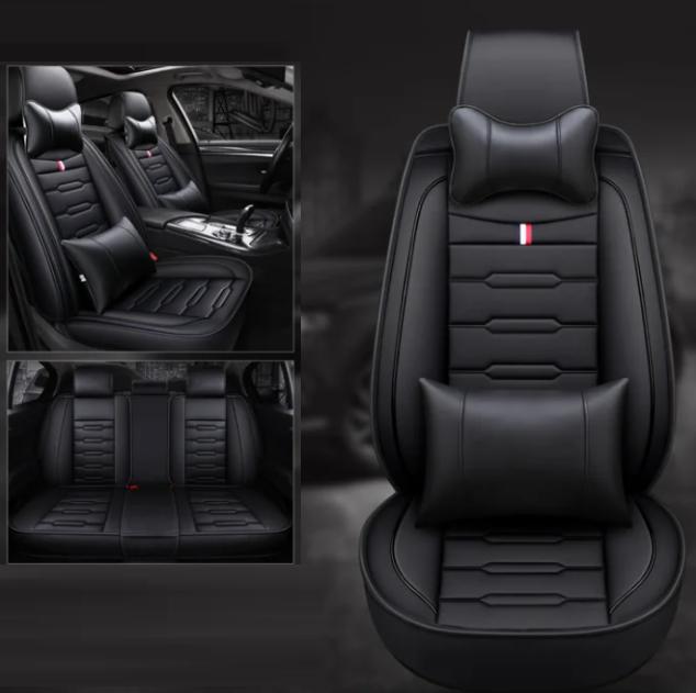 Модельные чехлы Mazda на передние и задние сиденья автомобиля Ford с подушками
