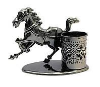 """Техно-арт подставка под ручки """"Лошадь"""" 11х12х6,5см (28207)"""