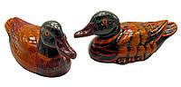 Утки мандаринки цветные пара 13см (19121)