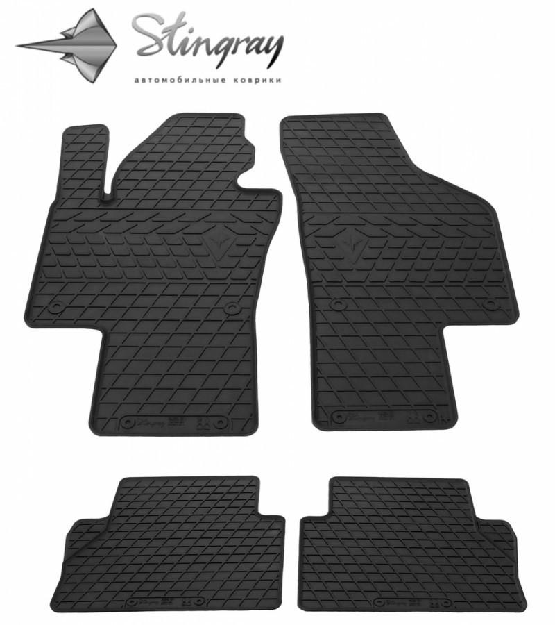 Резиновые коврики в автомобиль Volkswagen Sharan 2010- (Stingray)