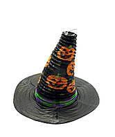"""Фонарь бумажный """"Шляпа"""" Хэллоуин 30х26см (27812)"""