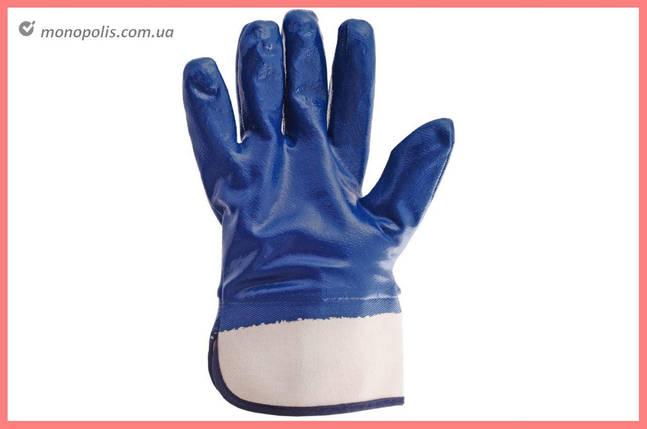 """Перчатки Intertool - масло-бензостойкие с твердым манжетом 10,5"""", фото 2"""