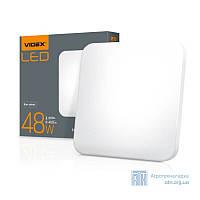 LED светильник функциональный квадратный VIDEX 48W 2800-6000K 220V
