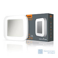 LED светильник функциональный квадратный VIDEX 30W 2800-6000K 220V