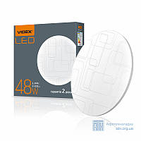 LED светильник функциональный (Прямоугольники) VIDEX 48W 4100K 220V
