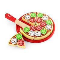 Игрушечные продукты Viga Toys Пицца из дерева (58500), фото 1