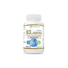 Вітамін B3 (PP) Ніацин, нікотинова кислота + інулін 50 мг 120 caps, PROGRESS LABS