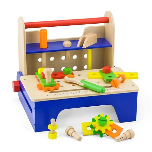 Деревянный игровой набор Viga Toys Ящик с инструментами (59869)
