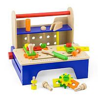 Деревянный игровой набор Viga Toys Ящик с инструментами (59869), фото 1