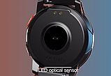 Смарт часы Фитнес браслет трэккер L6 c сенсорным IPS экраном .Браслет здоровья пульсометр тонометр + Подарок, фото 4