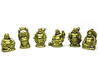Хотей каменная крошка набор 6шт желтый 25,5х7,5х3см (21963)