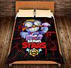 Плед з 3D принтом - Carl  Brawl Stars